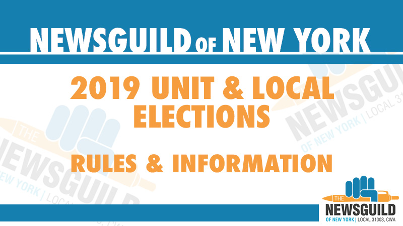 The NewsGuild of New York - The Union for Journalists